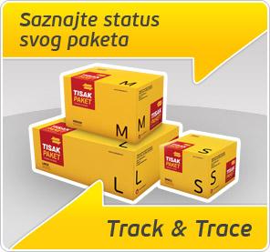 Saznajte status svog paketa - Track & Trace